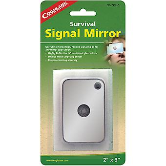 "Coghlan's Survival Signal Mirror, 2"" x 3"", Emergency Signaling Reflective Tool"