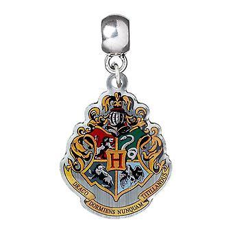 Harry Potter Argent Plaqué Poudlard Crest Slider Charm