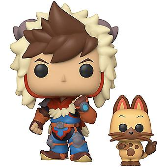 Monster Hunter Stories Lute med Navirou Pop! Vinyl