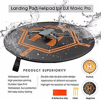 80cm Dji Drone Fast-fold Luminous Parking Apron Foldable Landing Pad For Fimi
