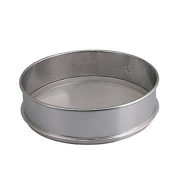 Farina in acciaio inossidabile Fine Mesh Round 25x7cm