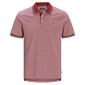 Jack & Jones Joules Bluwin Pique Polo (red)