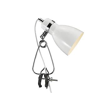 Cycloon 27 cm witte clip lamp