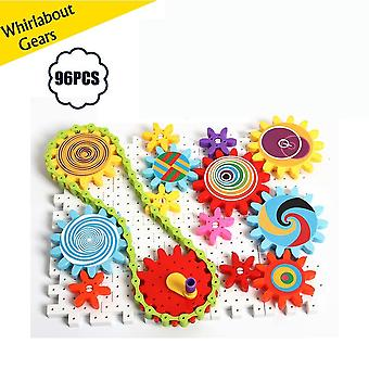 Fun With Gears Building Set Learning Blockseducational Stem Toys For Kid