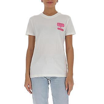 Chiara Ferragni Cft095wht Femmes-apos;s White Cotton T-shirt