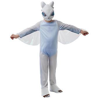 Light Fury White How To Train Your Dragon The Hidden World Child Girls Kostuum