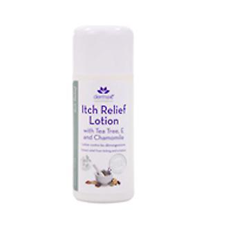 Lotion de soulagement de derma e itch avec camomille, arbre de thé et e, 6 oz