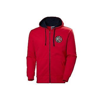 Helly Hansen 1877 Full Zip Hoodie 53226111 universal toute l'année hommes sweat-shirts