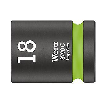 Wera 8790 C Impaktor Socket 1/2in Asema 18mm 05004575001