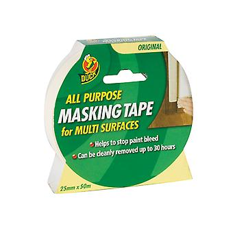 Shurtape Duck Tape All Purpose Masking Tape 25mm x 50m SHU232148