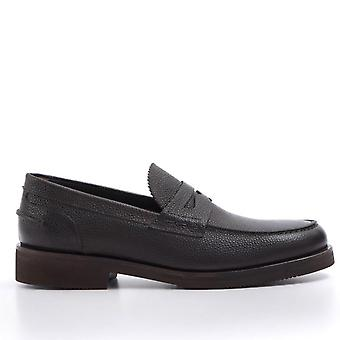 Moccasins In Hammered Leather Moro Head