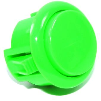 30mm Green Arcade Button - 2 pin