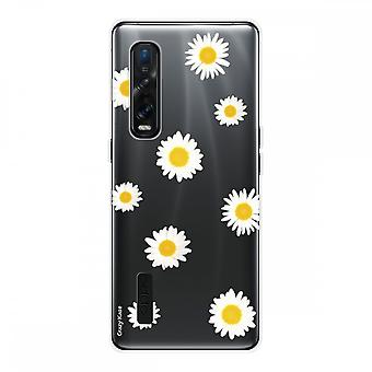 Hull For Oppo Find X2 Pro In Silicone Soft 1 Mm, Marguerite