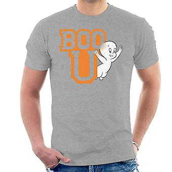 Casper The Friendly Ghost Boo You Varisty Men''s T-Shirt