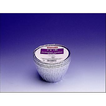 Caroline Folie Pudding Becken x 4 1lb 1044