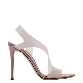 Gianvito Rossi G3184115ricgsvglaze Women's Pink Pvc Sandals