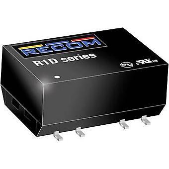 RECOM R1D-2415 DC/DC-omvandlare (SMD) 15 1 W Nr. av utgångar: 2 x