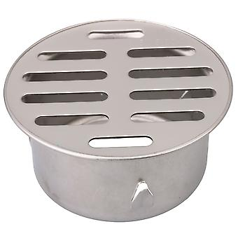 2.95Inch Silver Insert Round Floor Drain for Drainpipe Stainless Steel