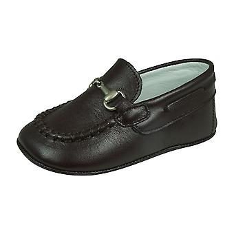 Cool Boys Bertie Baby Leather Shoes - Brun