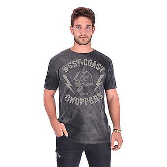 West Coast Choppers Men's T-Shirt AT Helmet
