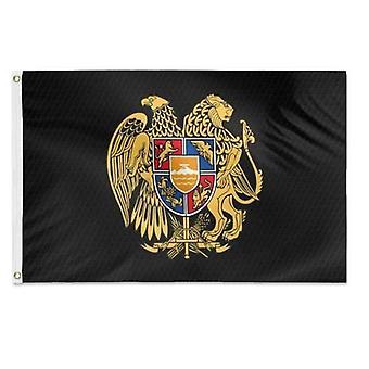Armenian Coat Of Arms Flag 3x5 Feet