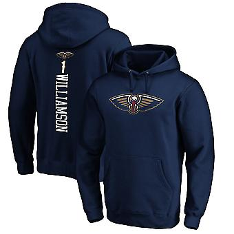 New Orleans Pelicans 1e Williamson Loose Pullover Hoodie Sweatshirt WY116