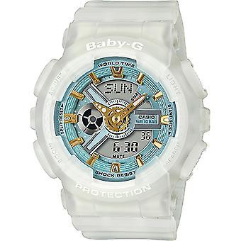 G-Shock BA-110SC-7AER Baby-G Sea Glass Colour Series Wristwatch White