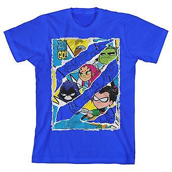 Dc comics teen titans go! boys t-shirt