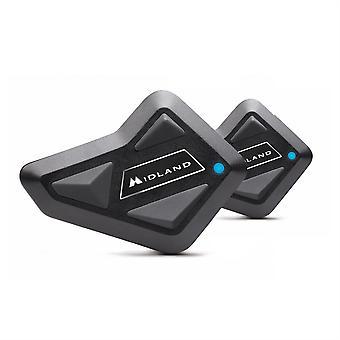 Midland BT MINI Bluetooth Rider-Passenger Intercom Twin Pack