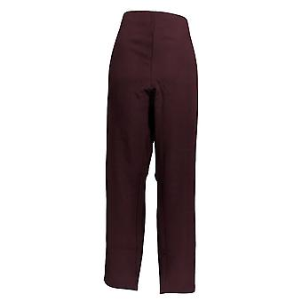 Kelly By Clinton Kelly Women's Pants Pull On Straight Leg Red A272020