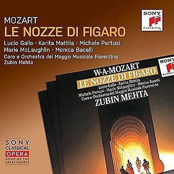Mozart / Mehta, Zubin - Mozart: Le Nozze Di Figaro K492 [CD] USA import