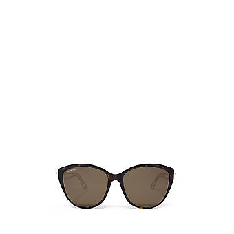 Balenciaga BB0057SK havana female sunglasses