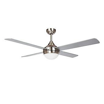 Ceiling fan BALOO+ Nickel with light  and remote
