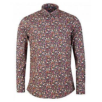 Remus Uomo Floral Print Shirt