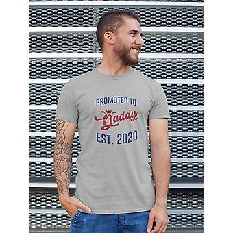 تمت ترقيته إلى Daddy Est. 2020 Men's-shirt