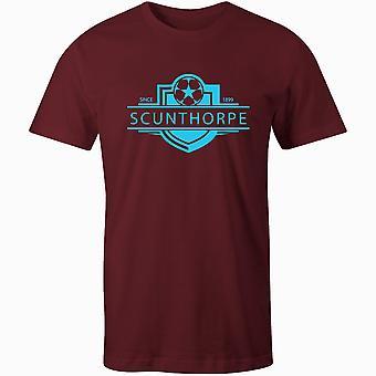 Scunthorpe المتحدة 1899 أنشئت شارة كرة القدم تي شيرت