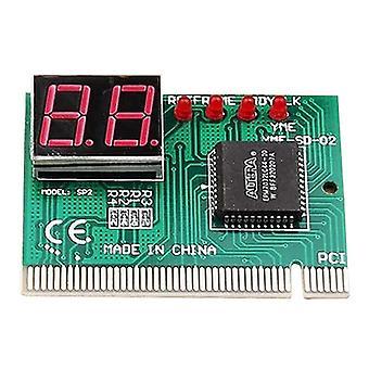 2 أرقام الكمبيوتر الأم المجلس تصحيح محلل pci تشخيص بطاقة