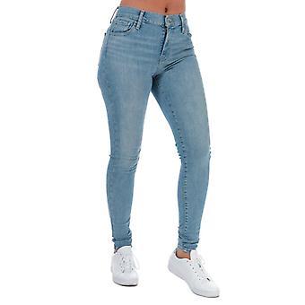 Frauen's Levis 720 High Rise Super Skinny Jeans in Blau