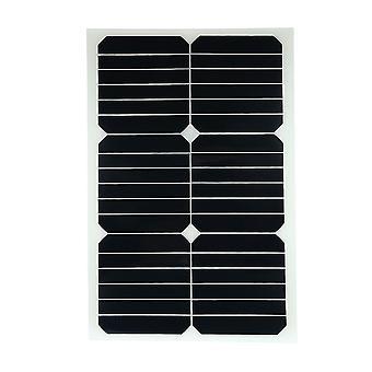 20W 12v mono semi-flexible Solarpanel mit sunpower Chip für Batterie-Ladegerät Boote Cara