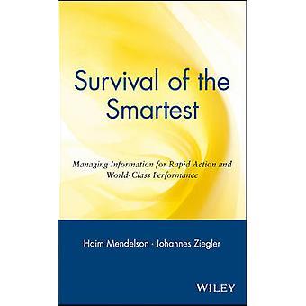 Älykkäimmän selviytyminen - Nopean toiminnan ja W:n tiedon hallinta