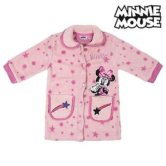 Children's dressing gown minnie mouse pink