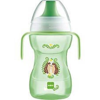Mam fun to drink cup 270ml with handles green