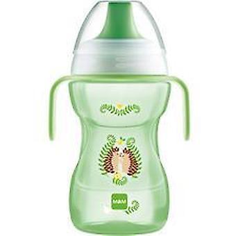 Mam kul att dricka kopp 270ml med handtag grön
