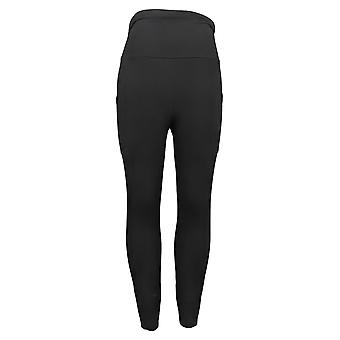 MIND BODY LOVE By Peace Love World Legging Tall TS Ruched Waist Black A380145