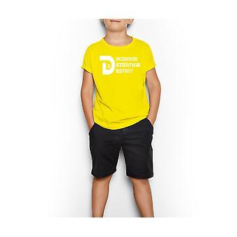 Decisions Determine Destiny Shirt (youth)