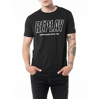 Replay Men's T-Shirt Regular Fit