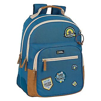 School Bag National Geographic Explo Blue Brown