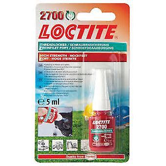 Loctite 2700 5ml OEM Specified High Strength Thread Lock & Sealant Stud/Nutlock
