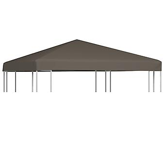 vidaXL pavilion roof 310 g / m2 3x3 m Taupe