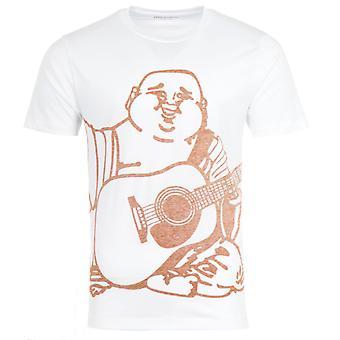 True Religion Oversized Buddha Crew Neck T-Shirt - White